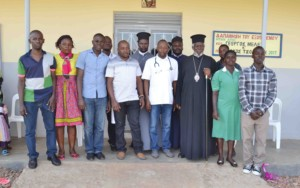 UOMB Medical team with His Eminence